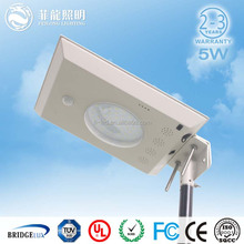 Beautiful shape products in 2015 ,the 5w led solar street 550lumens favorable price solar led garden lighting price