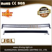 300w offroad led spot light bar long lifespan car led light bar cree amber led offroad driving light bar CE, ROHS