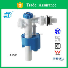 Toilet tank side fill valve with internal filter silence-designed (A1501)