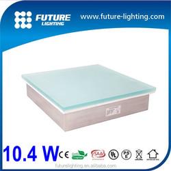 Outdoor landscape Lighting Toughened Glass RGB color changing 300*300mm led floor tile light