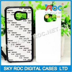 2015 High quality raw material 2D sublimation for Samsung S6 blank case