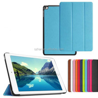 New Ultra Slim Custer Magnetic Flip Cover Stand PU Leather Case Smart 3 Fold Case for Ipad mini 4
