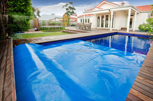Hard Plastic Swimming Pool Cover for Sale ,Pool Accessory ,Bule Cover for Swimming Pool,PE Swimming Pool Cover
