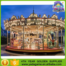 China Manufacturer Theme Park Carousel Children Musical Amusement Ride