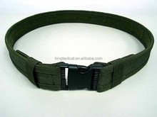 combat buckle belt army green color tactical use military surplus