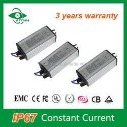 3 years warranty ce rohs 36v 10w led driver waterproof ip67