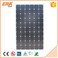 Factory direct sale solar energy top quality price per watt monocrystalline silicon solar panel