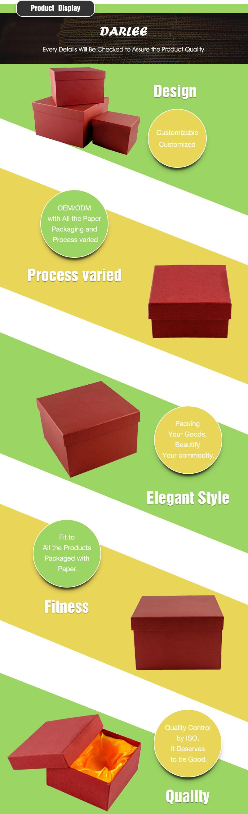 foam lined gift box