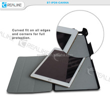 For iPad Air2 Slim Clear Transparent Magnetic Leather Smart Cover Hard Back Case