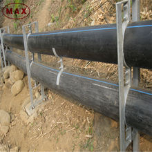 Anti-corrosion flexible hdpe sewer pipes for rain water drainage