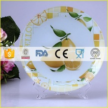 Customized Best-Selling painting on china glass plates