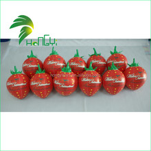 Advertising inflatable strawberry, inflatable fruit toy inflatable strawberry, inflatable promotional items