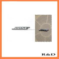 Metal Aluminum Audio Speaker Decorative Stickers Bose Speaker Embossment Emblem Badge Mark Symbol Nameplate