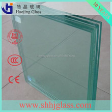 Haojing 3mm-12mm tempered glass thickness
