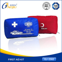 high quality competitive oxford material road trip emergency kit first aid kit