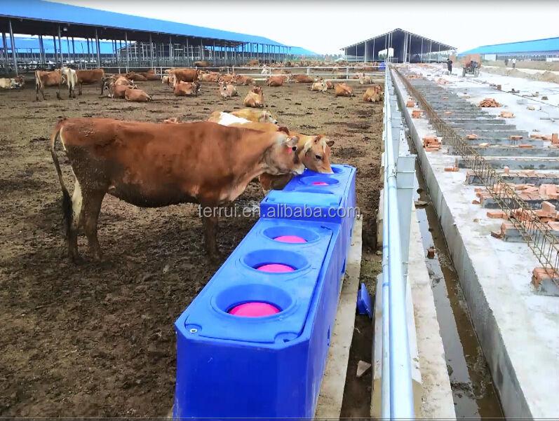 Поилки для коровы своими руками