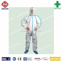 High-End Disposable Safety Overall strong liquid chemical splash Workwear