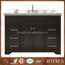 wasserdicht modernen dunklen kirsche holz bad waschbeckenunterschrank. Black Bedroom Furniture Sets. Home Design Ideas