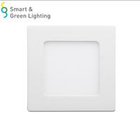 4w 6w 9w 12w 15w 18w led ceiling recessed downlight slim square panel light