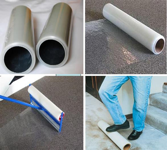 Pe plastique auto adh sif tapis de protection film avec perfor film plastique id de produit - Enlever film plastique de protection ...
