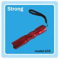 Mini linterna led color rojo, luz de bolsillo, linternas baratas de promoción