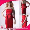 Latest fashion red designs dress evening dress australia