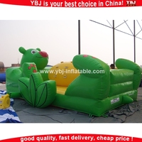 2015 cheap inflatable bouncers for sale / giant inflatable bear bouncers / inflatable body bouncers