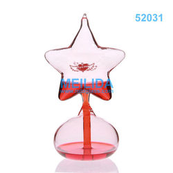 Five-pointed Star hand boiler glass craft ornaments