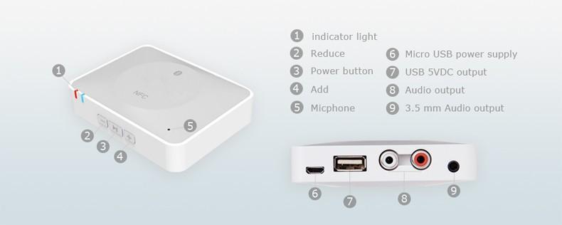 NFC bluetooth audio receiver 02