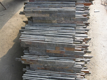 stacked culture stone slate