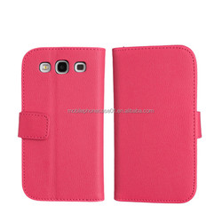 cheap mobile phone case for samsung galaxy s3 with credit card