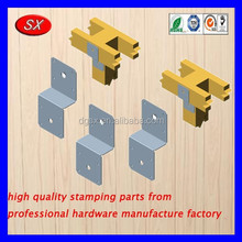 customized mounted clips wood connect steel angle Bracket metal stamping parts