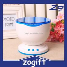 ZOGIFT Fashion design Daren waves night light projector speaker lamp Ocean Waves Projector Lamp led light projector