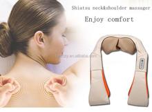 Electronic massager pad shiatsu shoulder massager belt,hooded neck warmer