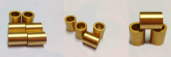 Flanged Sintered Bronze Bush Bearing/Cu663 bronze alloy copper powder metallurgy bush/DU DX Bimetal Graphite brass bushings
