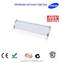 led linear light indoor high bay, CE RoHS SAA 200W, 100-240V, 105lm/W