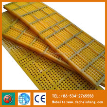 mineral mechinery parts polyurethane wire sieving mesh