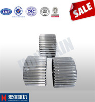 speed reducer big worm gear wheel with AISI 4130 alloy steel