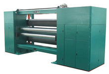 three rollers nonwoven fabric calender making machine