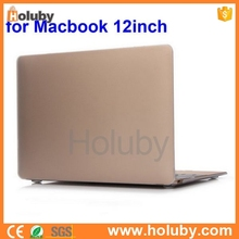 """Frosted Folio Hard PC Case for Apple The New Macbook 12'' inch Retina Display Laptop, for Apple The New Macbook 12"""" Case"""