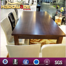 2*1metre big size for big family or dinner party square mdf dining table