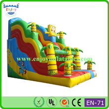 Inflatable Spongebob Water Slide for sale, Inflatable SpongeBob Water Pool Slide With Double Lane For Kids