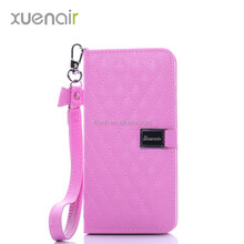 Flip leather cell phone case for samsung galaxy s4