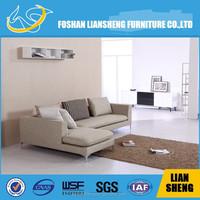 cheap living room sets colorful u shaped sectional sofa S001