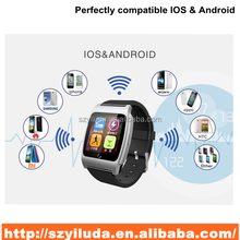 hot sale mobile parter/bluetooth watch/smart watch phone for android and ios