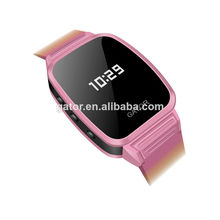 2014 newest smallest waterproof IP67 kids gps watch with calling and voice monitor -Caref watch only for sole agent