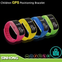 Anti Kidnapping Tracking Device Bracelet GPS For Child