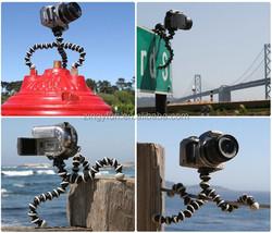 Promotion Gift flexible camera mount spider gorillapod gorilla tripod