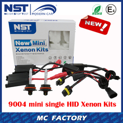 New Arrive 9004 slim Ballast HID Kit Mini Single xenon hid kit