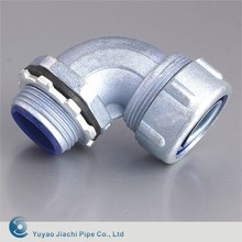90 degree galvanized waterproof coupling